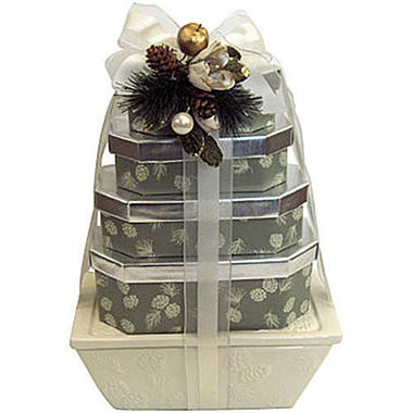 European Chocolate Gift Tower