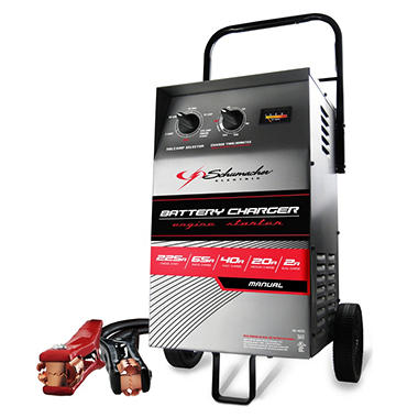 Schumacher - Wheeled Electric Battery Charger