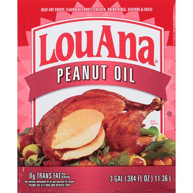 LouAna Peanut Oil Blend - 3 gal.
