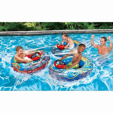 Banzai Aqua Blast Bumper Boat Ebay