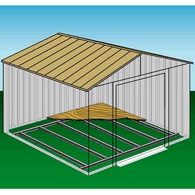 Arrow Shed Foundation Kit - 10' × 14'