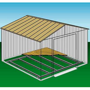 10' × 8' Arrow Shed Foundation Kit