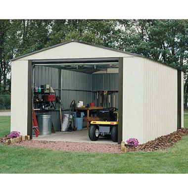 Arrow Vinyl Murrayhill Vinyl Coated Steel Shed - 12' x 17'