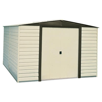 Dallas 10' x 8' Vinyl-Clad Steel Shed