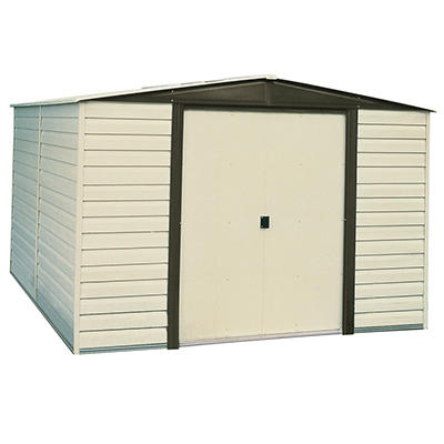 Dallas 10' x 12' Vinyl-Clad Steel Shed