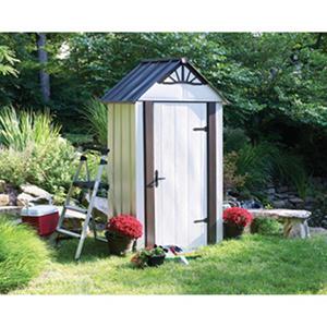 4' x 2' Designer Series Metro Backyard Steel Storage Shed