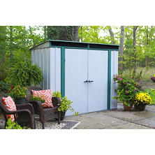 8' x 4' EuroLite Steel Lean-To Storage Shed