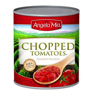 Angela Mia Chopped Tomatoes - 102 oz.