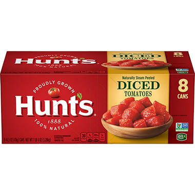 Hunt's� Diced Tomatoes - 14.5 oz. cans - 8 pk.