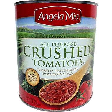 Angela Mia� Crushed Tomatoes - 102 oz.