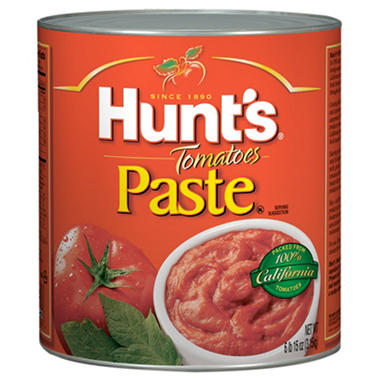 Hunt's Tomato Paste - Fancy Grade - 111 oz.