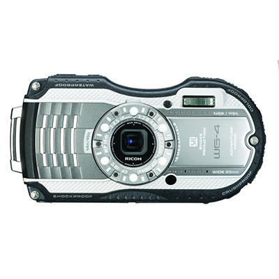 Pentax WG4 16MP Waterproof Camera with 4x Optical Zoom - Various Colors