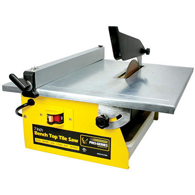 Black Bull Bench Top Tile Saw - 7
