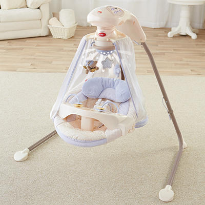 Fisher-Price Starlight Papasan Cradle Swing