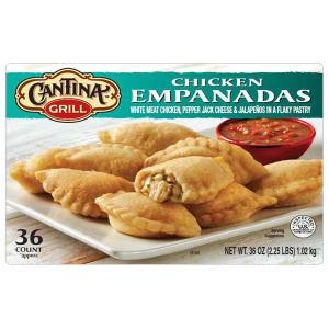 Cantina Grill Chicken Empanadas (2.25 lbs.)