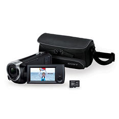 Sony HDR-CX440/B Full HD 60p Camcorder Bundle