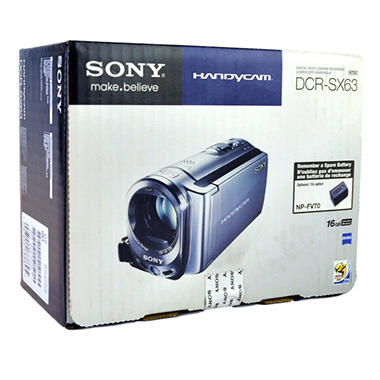 Sony DCR-SX63 Digital Camcorder