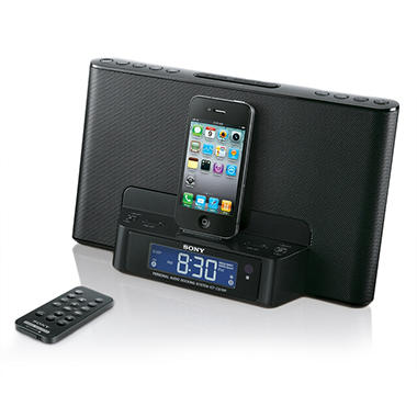 Sony Speaker Dock for iPod and iPhone - Black
