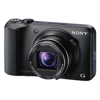 Sony DSC-H90 16.1MP Digital Camera - Black
