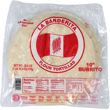 "Ole 10"" Flour Tortillas - 24 ct. - 2 pk."