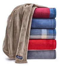 IZOD Plush Throws, Set of 2 (Assorted Styles)