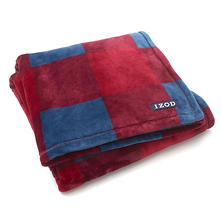 IZOD Buffalo Plaid Throw