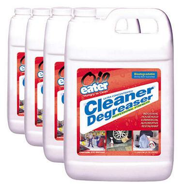 Oil Eater Cleaner Degreaser - 1 Gallon Bottles - 4 Pack