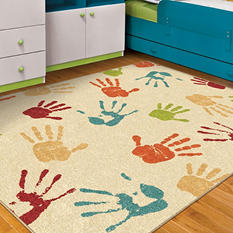 Thankful Hands Ivory Area Rug
