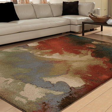 Blotch Multi Area Rug    307313