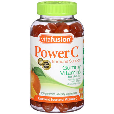VitaFusion Power C Gummy Vitamins - 150 ct. - 2 pk.