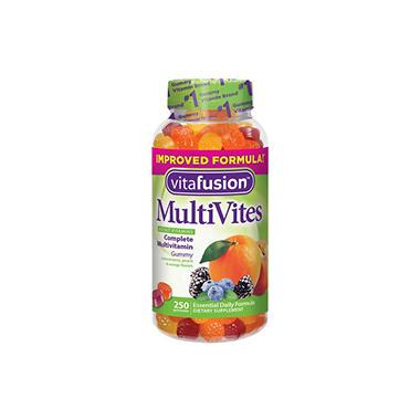 Vitafusion Multi Vites Gummy Vitamins, 250 CT