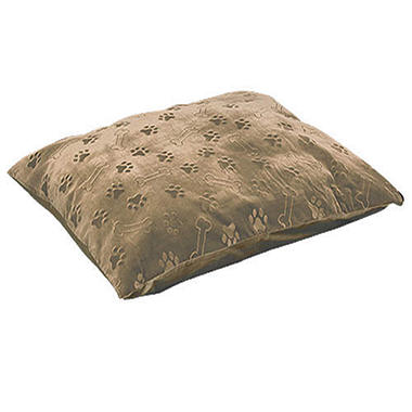 Memory Therm® Dog Bed w/ Tan Puppy Print