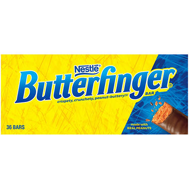 Butterfinger Candy Bar (36 ct.) - Sam's Club