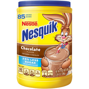 Nestle® Nesquik® Chocolate Flavor - 48.7 oz.