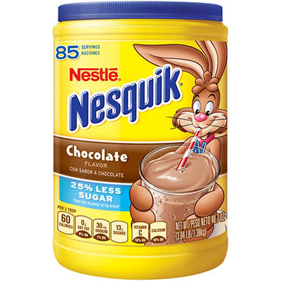 Nestle Nesquik Chocolate Flavor (48.7 oz.)