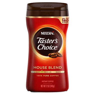 Nescafe� Taster's Choice� Instant Coffee - 12 oz. jar