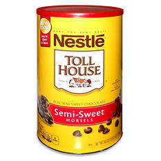 Nestle Toll House Semi-Sweet Chocolate Morsels (60 oz.)
