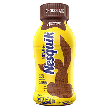 Nestle® Nesquik® Chocolate Lowfat Milk - 8 oz.