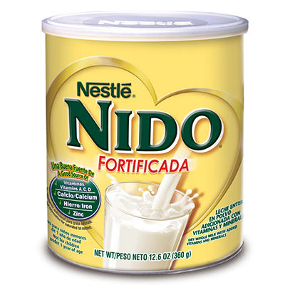 Nestle - NIDO Fortificada 1+ Toddler Formula, 12.6 oz. - 12 pk.