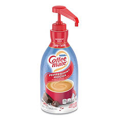 Nestle Coffee-mate Liquid Pump Bottle, Peppermint Mocha (1.5 L)