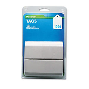 White Tag Refills for SG Tag Attacher Kit - 1,000 Tags