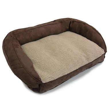 Serta Perfect Sleeper Memory Foam Couch Bed - Mocha Brown
