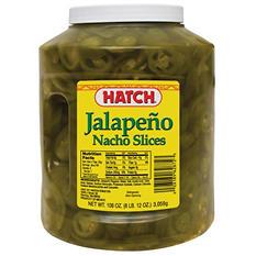 Hatch Nacho Sliced Jalepenos (108 oz.)