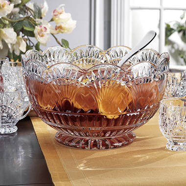 Godinger Shannon Crystal Freedom 10-Piece Punch Set