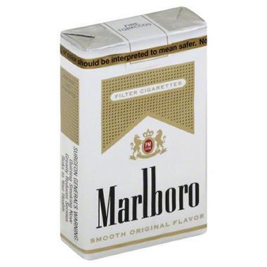 Marlboro Gold  (20 per pk., 10 pks.)