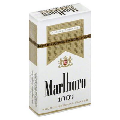 Marlboro Gold 100s Box - 200 ct.