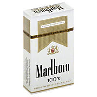 Marlboro Gold 100s Box (10/20 pk., 200 ct.)