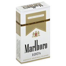 Marlboro Gold 100s Box - 200 ct.