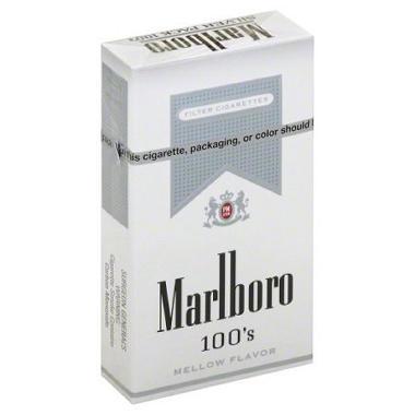 Marlboro Silver 100s Box - 200 ct.
