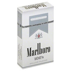 Marlboro Silver 100s Box - 200 ct.